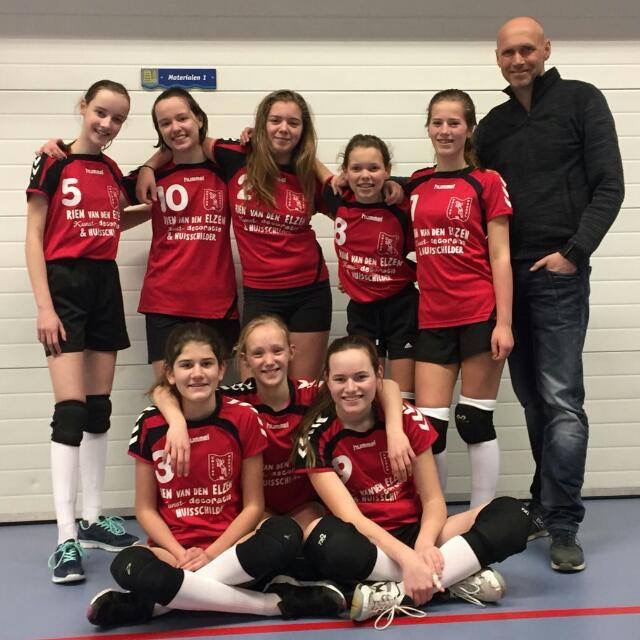 Unitas-Meisjes C boekt ruime overwinning