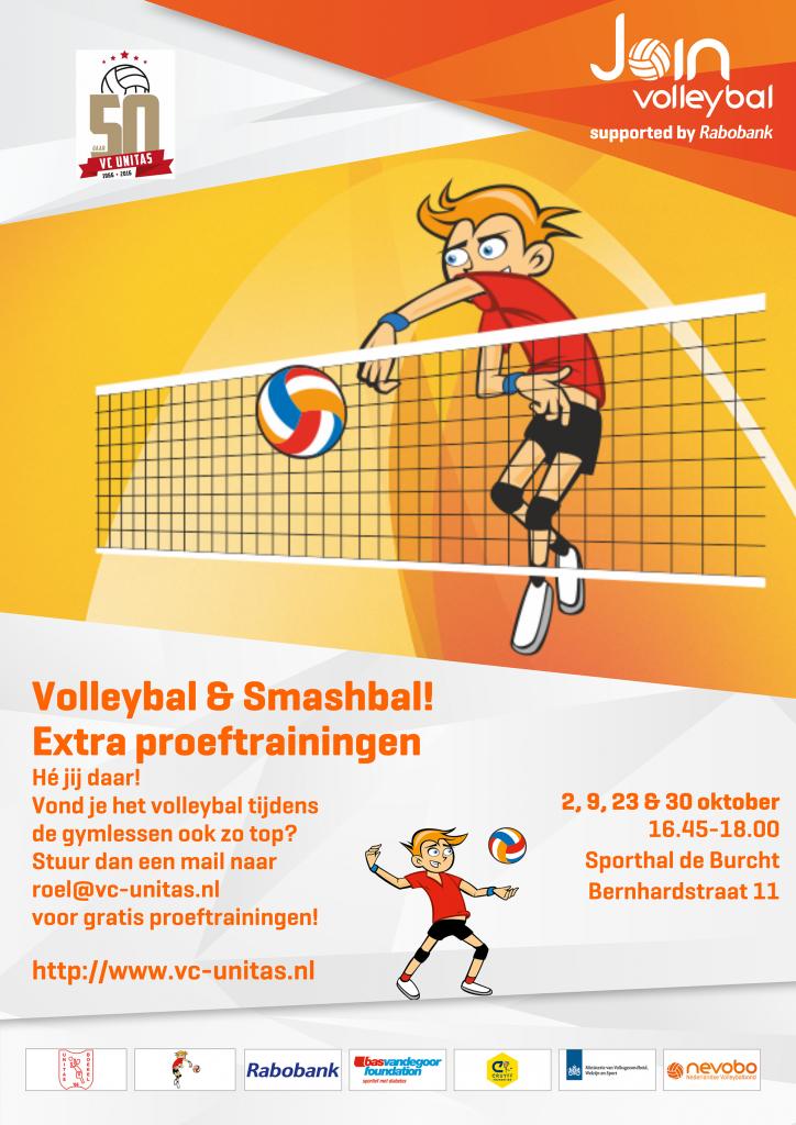 Extra proeftraining Smashbal & Volleybal!