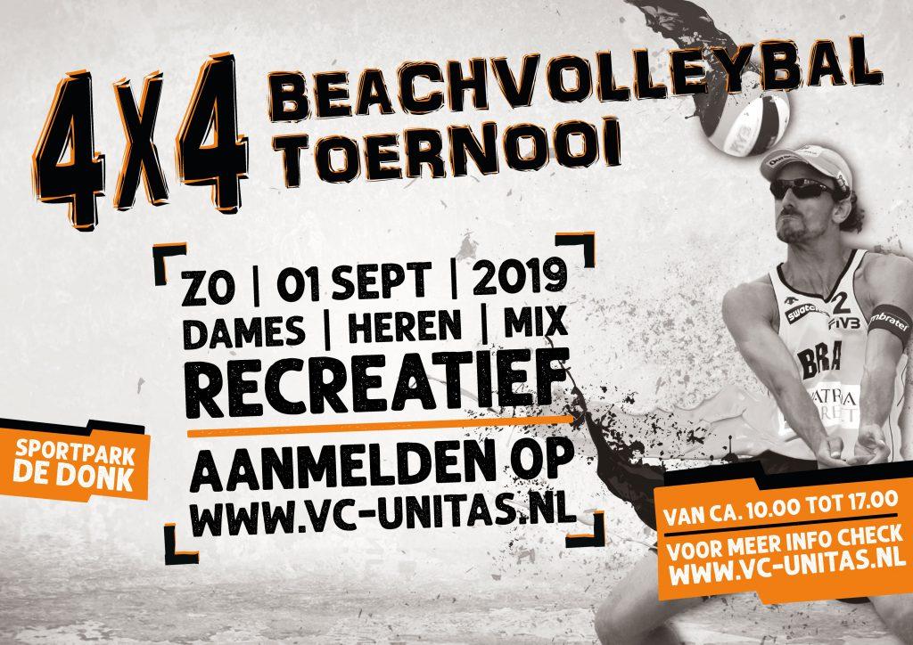 Beachvolleybaltoernooi in Boekel!