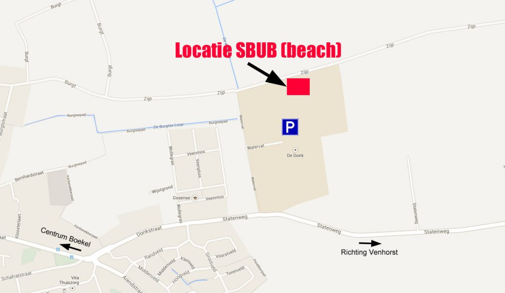 Locatie beachvelden