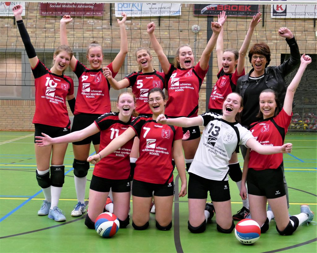Knappe overwinning Dames-1 !