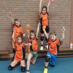 Topdag voor onze jongste volleyballers!