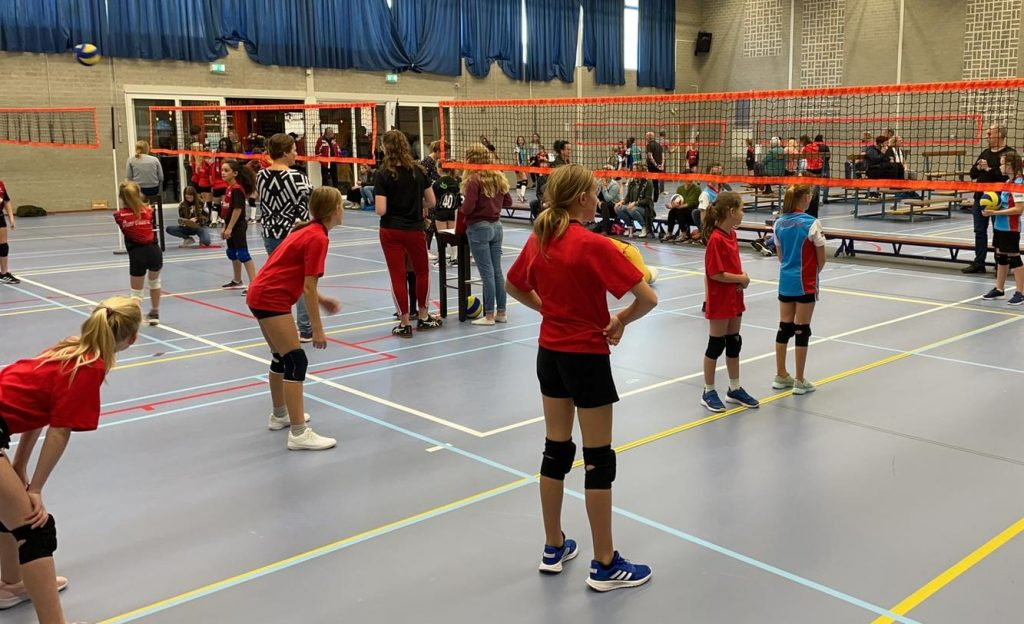 CMV-meiden goed bezig in Sambeek!